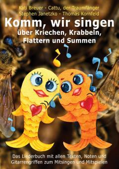 """ebook PDF LIEDERBUCH zur CD """"Komm, wir singen über Kriechen, Krabbeln, Flattern und Summen"""" (Downloadalbum)"""