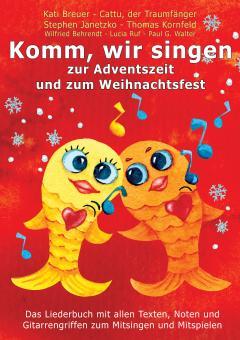 """ebook PDF LIEDERBUCH zur CD """"Komm, wir singen zur Adventszeit und zum Weihnachtsfest"""" (Downloadalbum)"""