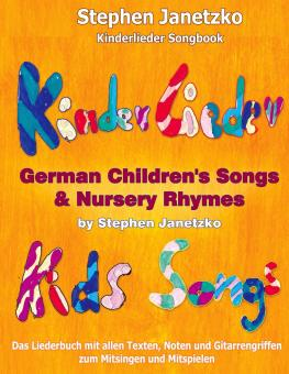 BUCH Kinderlieder Songbook - German Children's Songs and Nursery Rhymes - Kids Songs - Das Liederbuch