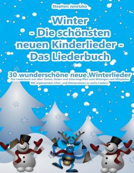 BUCH Winter - Die schönsten neuen Kinderlieder - Das Liederbuch