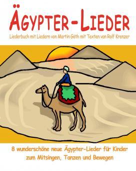BUCH Ägypter-Lieder - Das Liederbuch