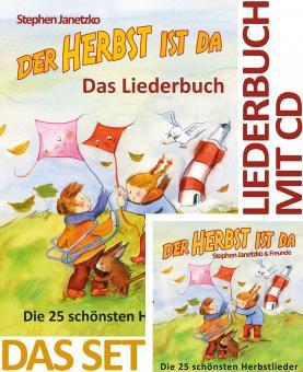SET LIEDERBUCH inkl. CD Der Herbst ist da - Die 25 schönsten Herbstlieder