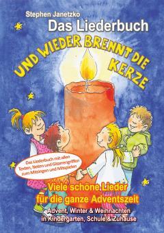 BUCH Und wieder brennt die Kerze - Das Liederbuch