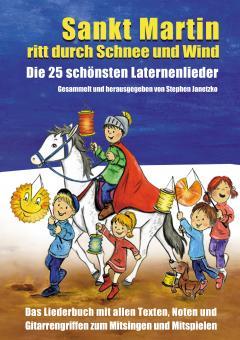 """ebook PDF LIEDERBUCH zur CD """"Sankt Martin ritt durch Schnee und Wind - Die 25 schönsten Laternenliede"""""""