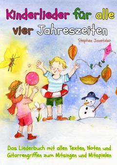 """ebook PDF LIEDERBUCH zur CD """"Kinderlieder für alle vier Jahreszeiten - Das Liederbuch"""""""