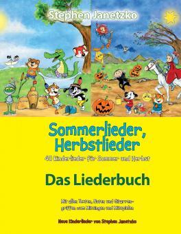 BUCH Sommerlieder, Herbstlieder - 40 Kinderlieder für Sommer und Herbst - Das Liederbuch