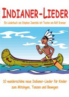 """ebook PDF LIEDERBUCH zur CD """"Indianer-Lieder"""""""