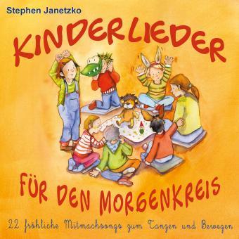 SONDERANGEBOTE CD Kinderlieder für den Morgenkreis - 22 fröhliche Mitmachsongs zum Tanzen und Bewegen