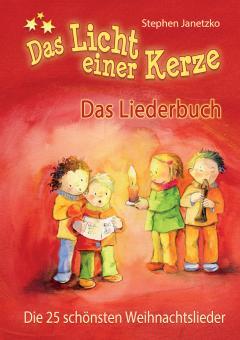 """ebook PDF LIEDERBUCH zur CD """"Das Licht einer Kerze - Die 25 schönsten Weihnachtslieder"""""""