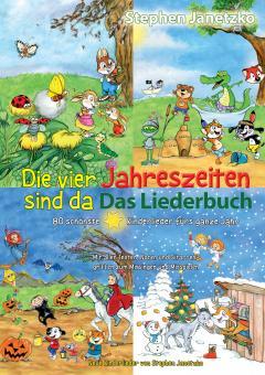 """ebook PDF LIEDERBUCH zur CD """"Die vier Jahreszeiten sind da - 80 schönste Kinderlieder fürs ganze Jahr"""" (zu 4 CDs)"""