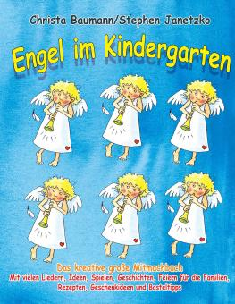 BUCH Engel im Kindergarten - Das kreative große Mitmachbuch