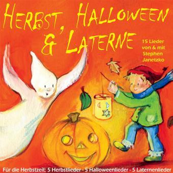 CD Herbst, Halloween & Laterne - 15 neue Lieder