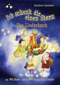 """ebook PDF LIEDERBUCH zur CD """"Ich schenk dir einen Stern - 25 Winter- und Weihnachtslieder"""""""