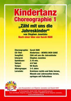 PDF Kindertanz Choreo 01 zu: Zähl mit uns die Jahreskinder (Jahrestanz von Stephen Janetzko)