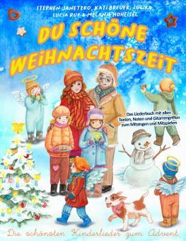 """ebook PDF LIEDERBUCH zur CD """"Du schöne Weihnachtszeit (Die schönsten Kinderlieder zum Advent)"""" (Download-Album)"""
