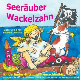 SET Seeräuber Wackelzahn (Doppel-CD - 2 CDs!)