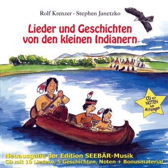 CD Lieder und Geschichten von den kleinen Indianern