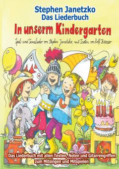 "ebook PDF LIEDERBUCH zur CD ""In unserm Kindergarten"""