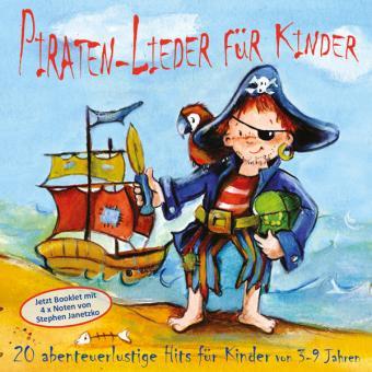 CD Piraten-Lieder für Kinder - NEU mit Piraten-Booklet