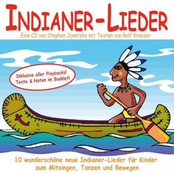 CD Indianer-Lieder für Kinder - NEU mit SUPER-Booklet!